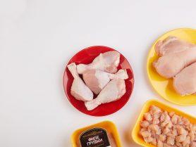 Натуральные части цыпленка-бройлера