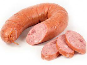 Колбаса мясная Краковская особая полукопченая